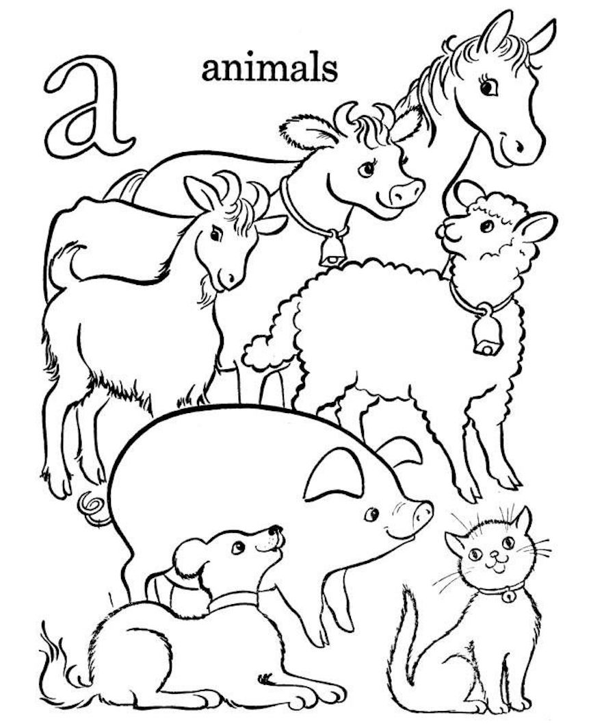 Animal Coloring Pages And Dozens More Free Printable Coloring Themes