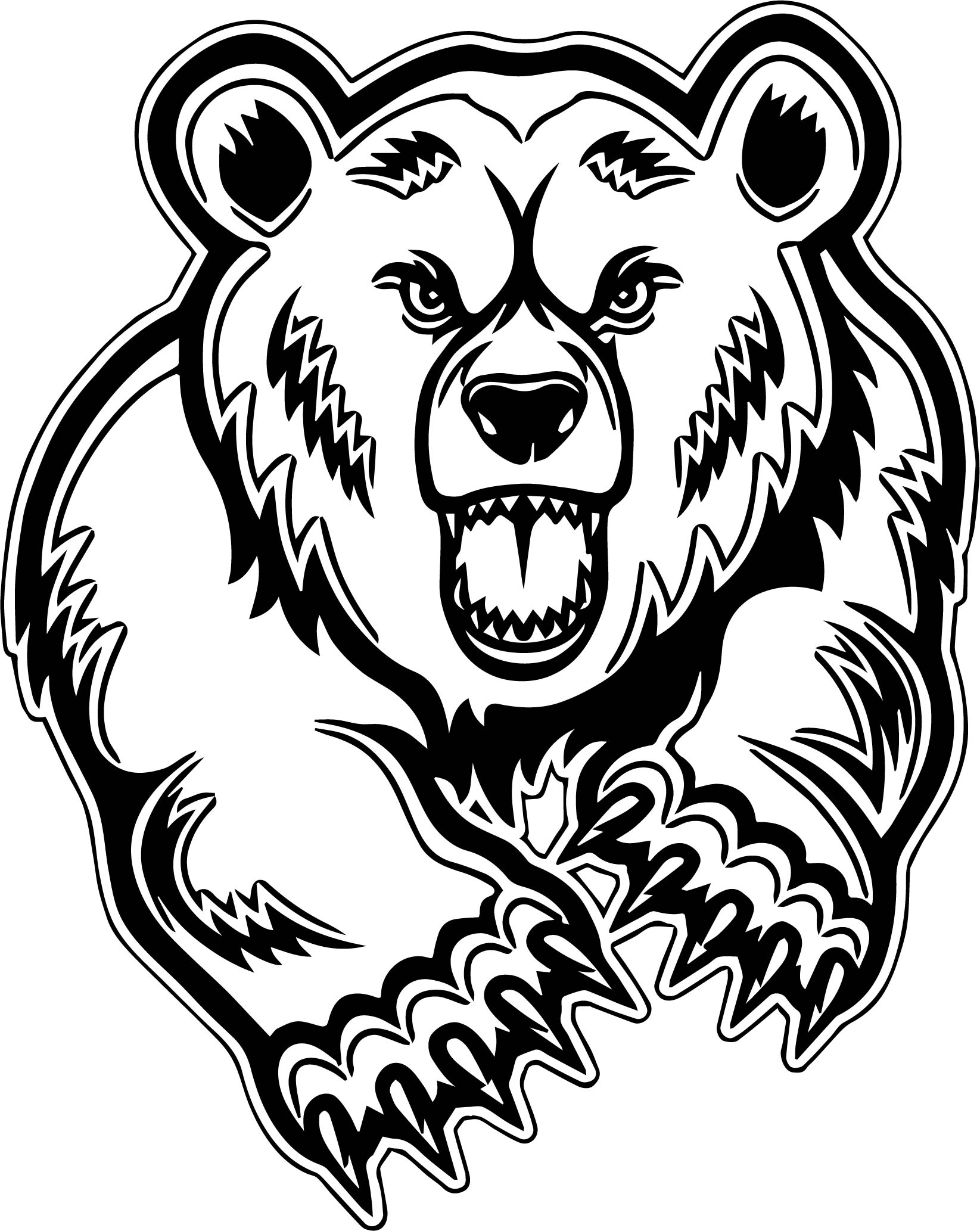 Bear Clipart, Coloring Pages, And Other Free Printable ...