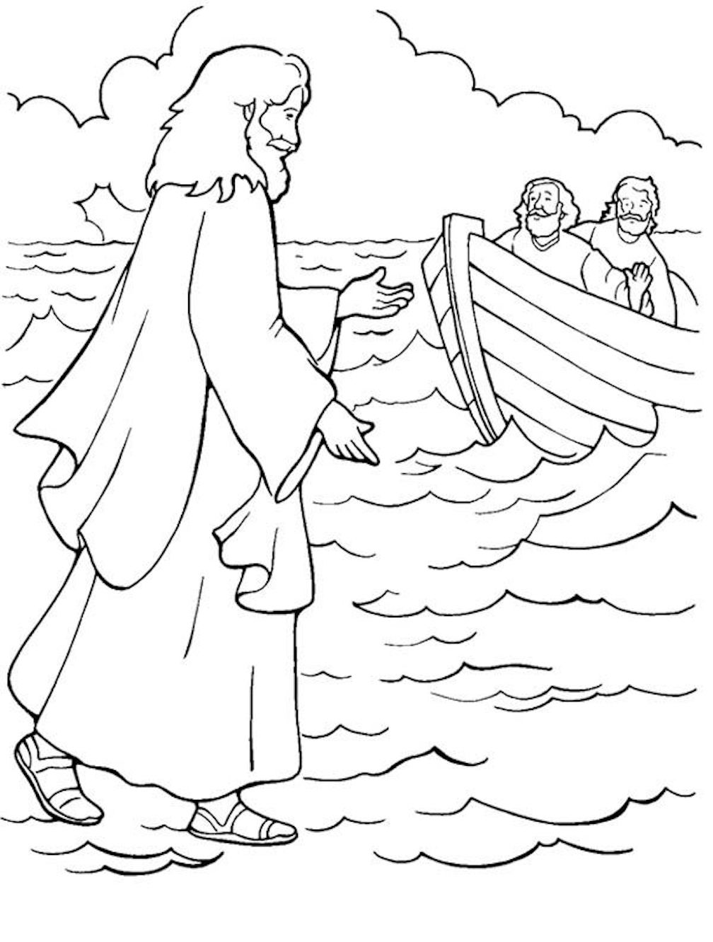 Free Printable Bible Coloring Sheets For Kids