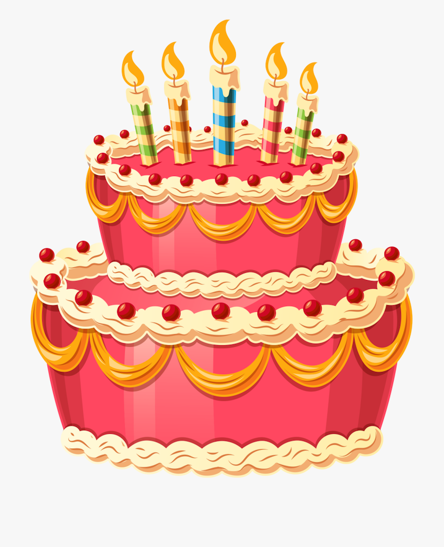 Birthday Cake Comments - Birthday Cake Icon Free - Free Transparent PNG  Clipart Images Download