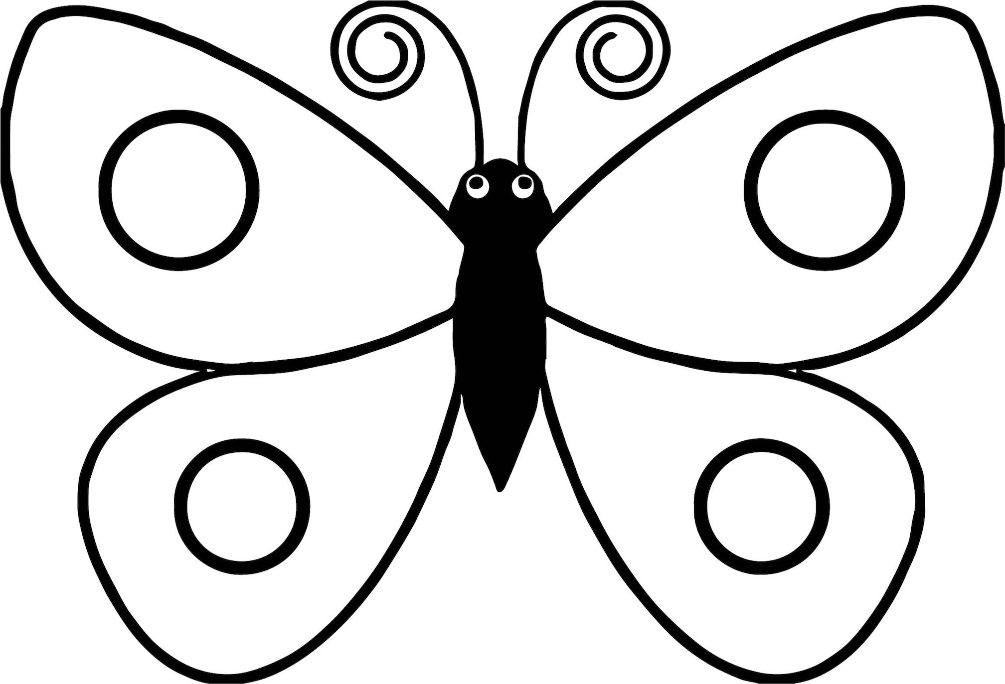 Butterfly Coloring Pages For Kids And Other Top 10 ...