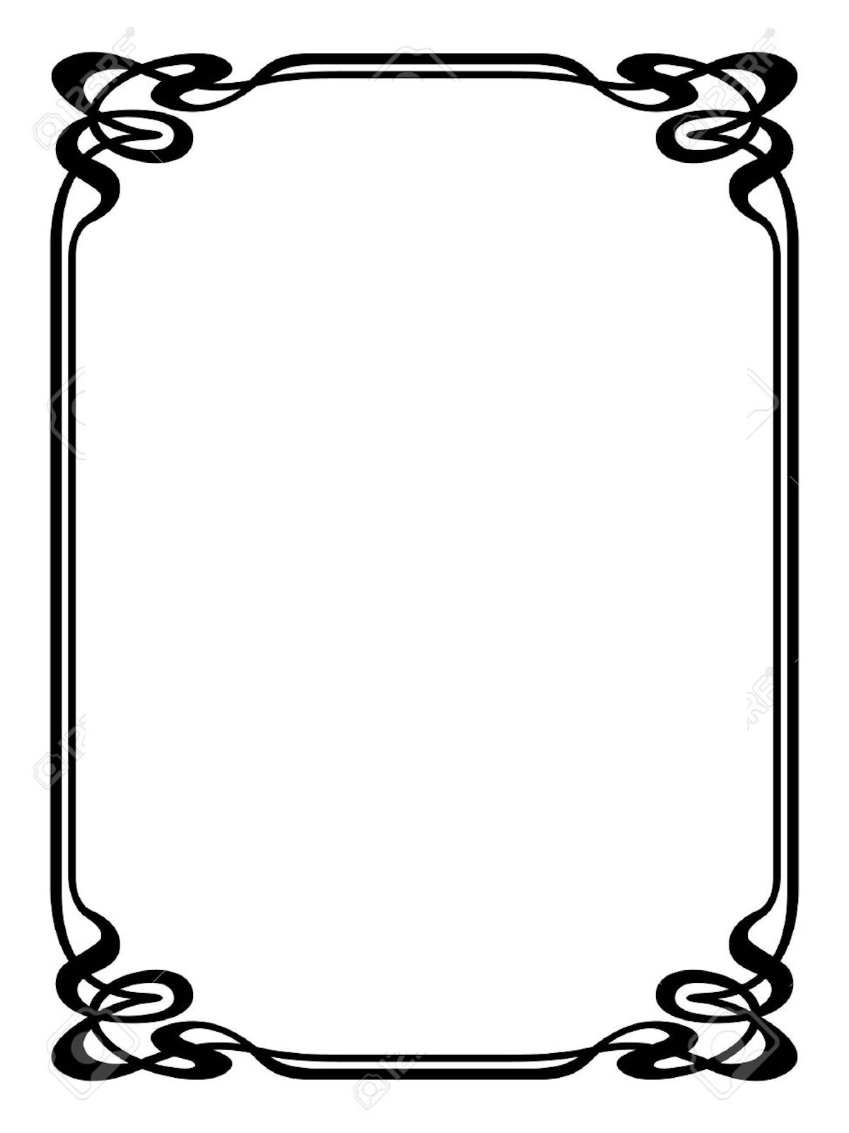 Pin Letters Toover Clip Art Borders Border Pages Book Free Play - Book  Frame Clipart – Stunning free transparent png clipart images free download