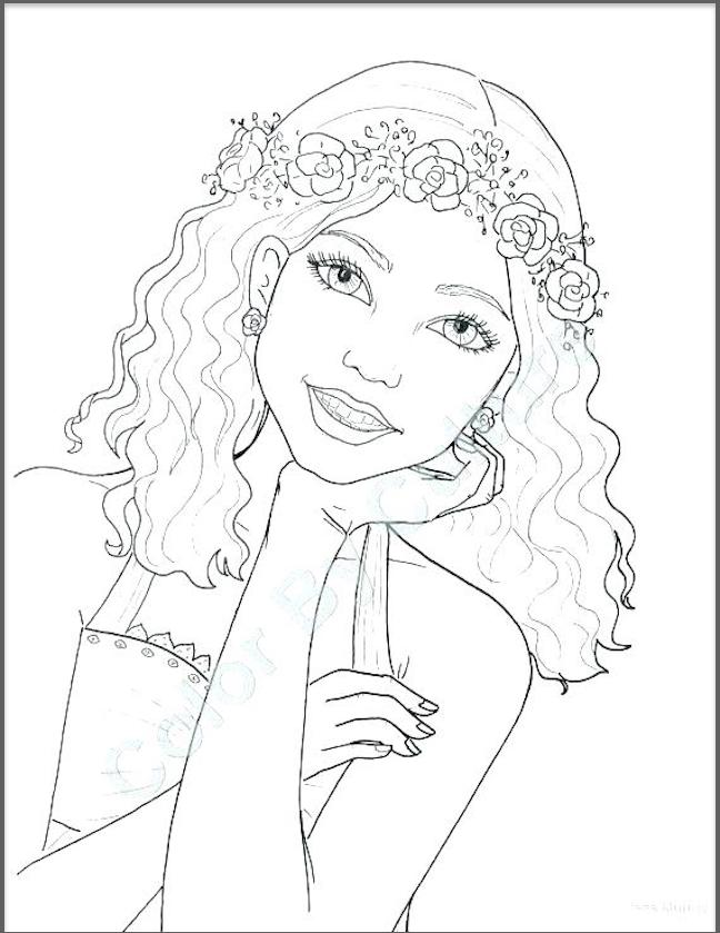 Top 25 Coloring Page Collection Clothing Fashion And You
