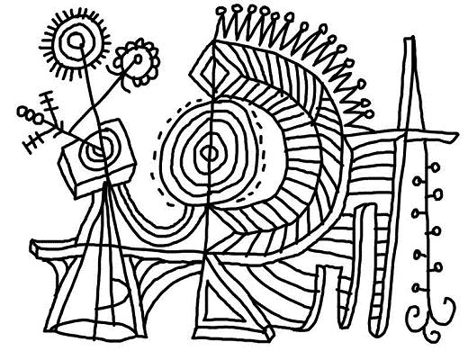 coloring pages to print - Famous Art Coloring Pages Picasso