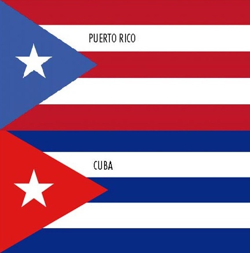 This is an image of Printable Puerto Rican Flag throughout betty boop