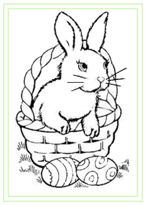 easter coloring pages and more