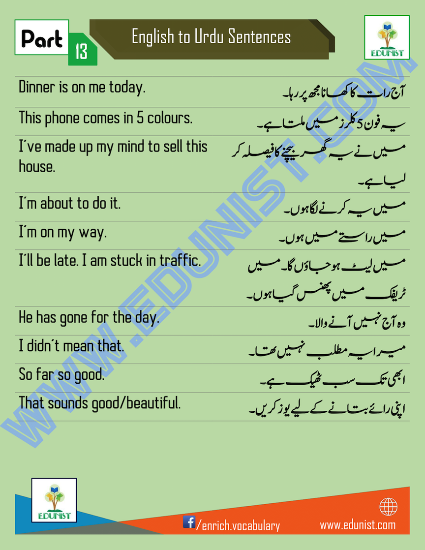 English To Urdu Translation Fast And Easy, Plus Many Other Languages