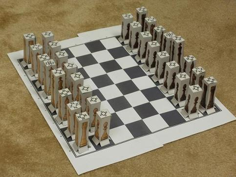 Fathers Day Crafts And More How To Make Chess Pieces