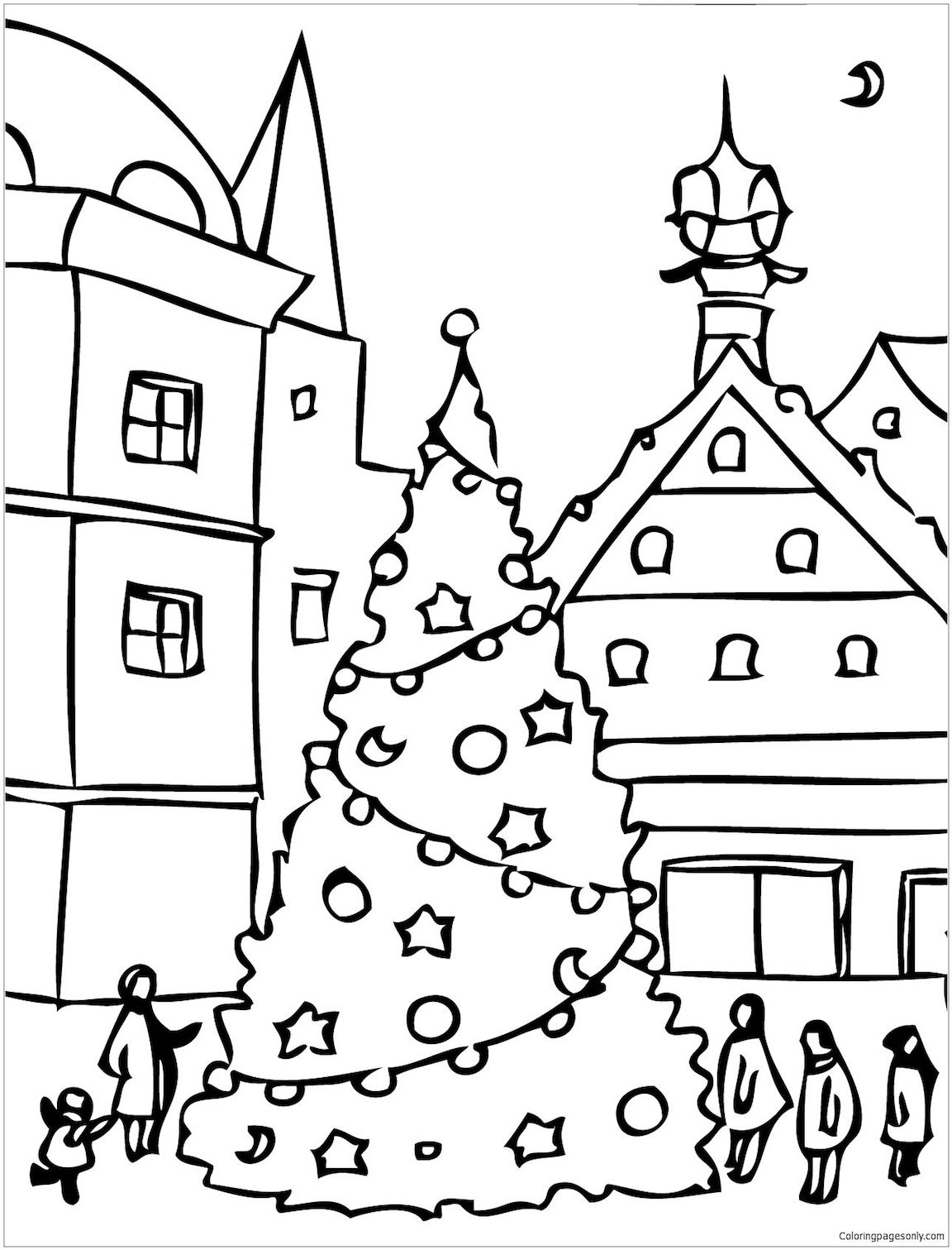 Free Christmas Coloring Pages For Advanced Colorers And ...
