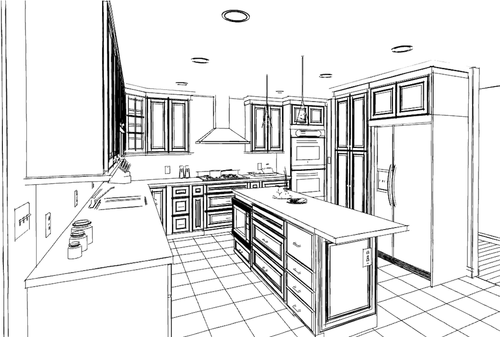 Interiors and Furniture Design Coloring Pages For Advanced ...