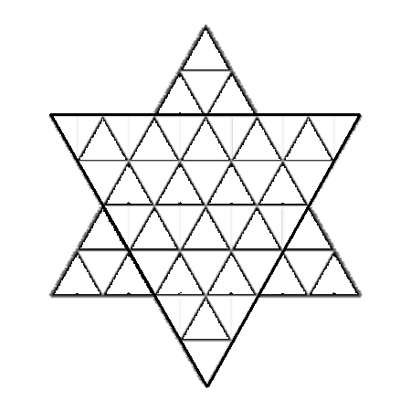 Colouring In Simple Patterns : Geometric Coloring Pages
