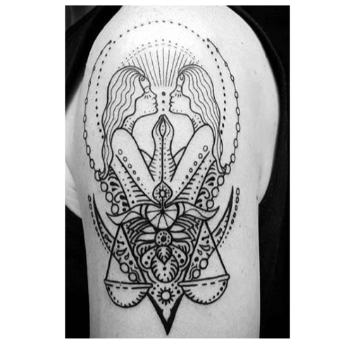 Best Gemini Tattoos And Other Zodiac Ink Designs