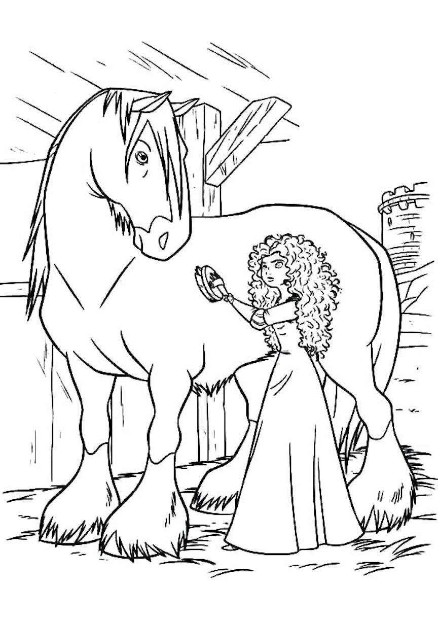- Horse Coloring Pages And Other Free Printable Coloring Page Themes