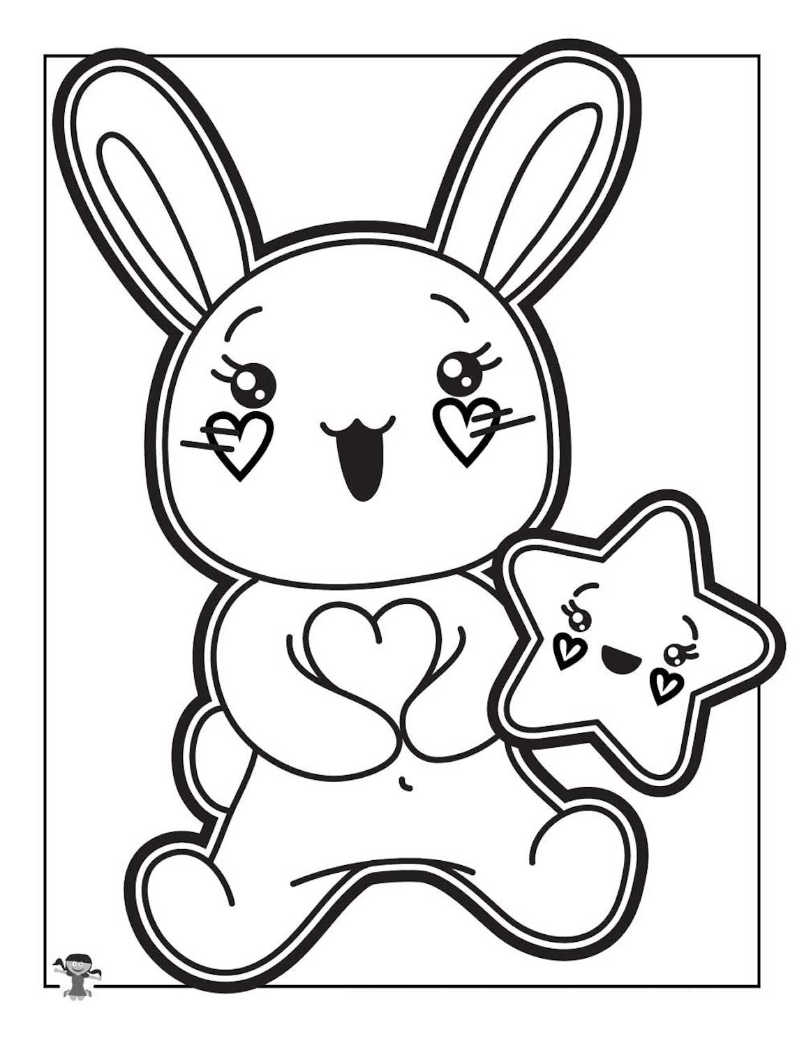 Kawaii Coloring Pages And Other Top 10 Themed Coloring Challenges