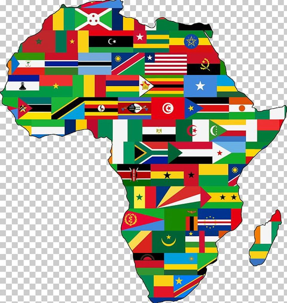 Free Clip Art Africa Map Map Of Africa Art, Africa Maps, And Other Free Printable Design Themes