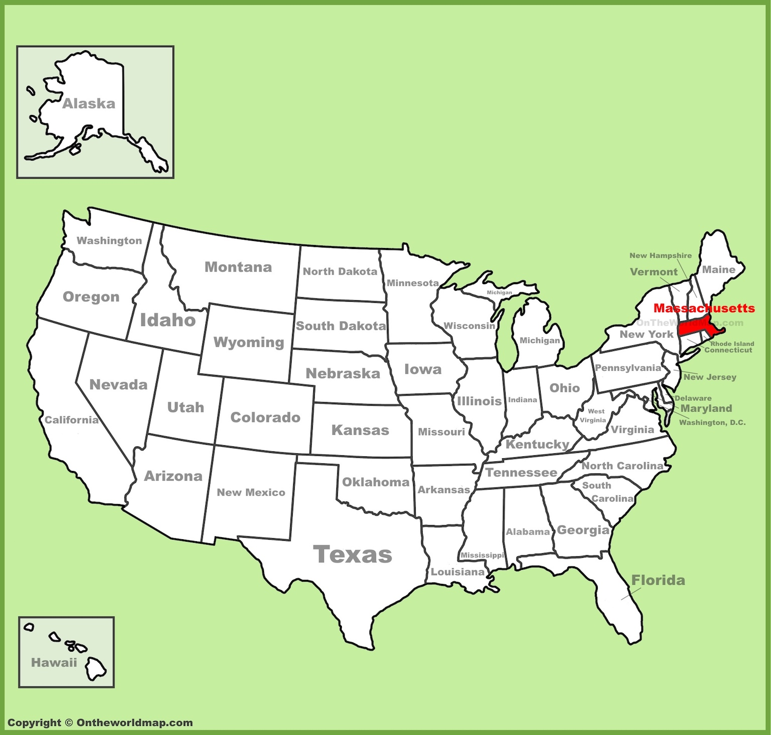 image about Printable Map of Massachusetts called Map Of Machusetts And Even more