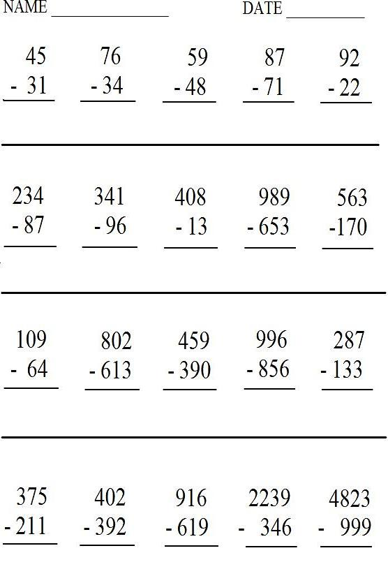 Maths Printable Worksheets – Maths Printable Worksheets