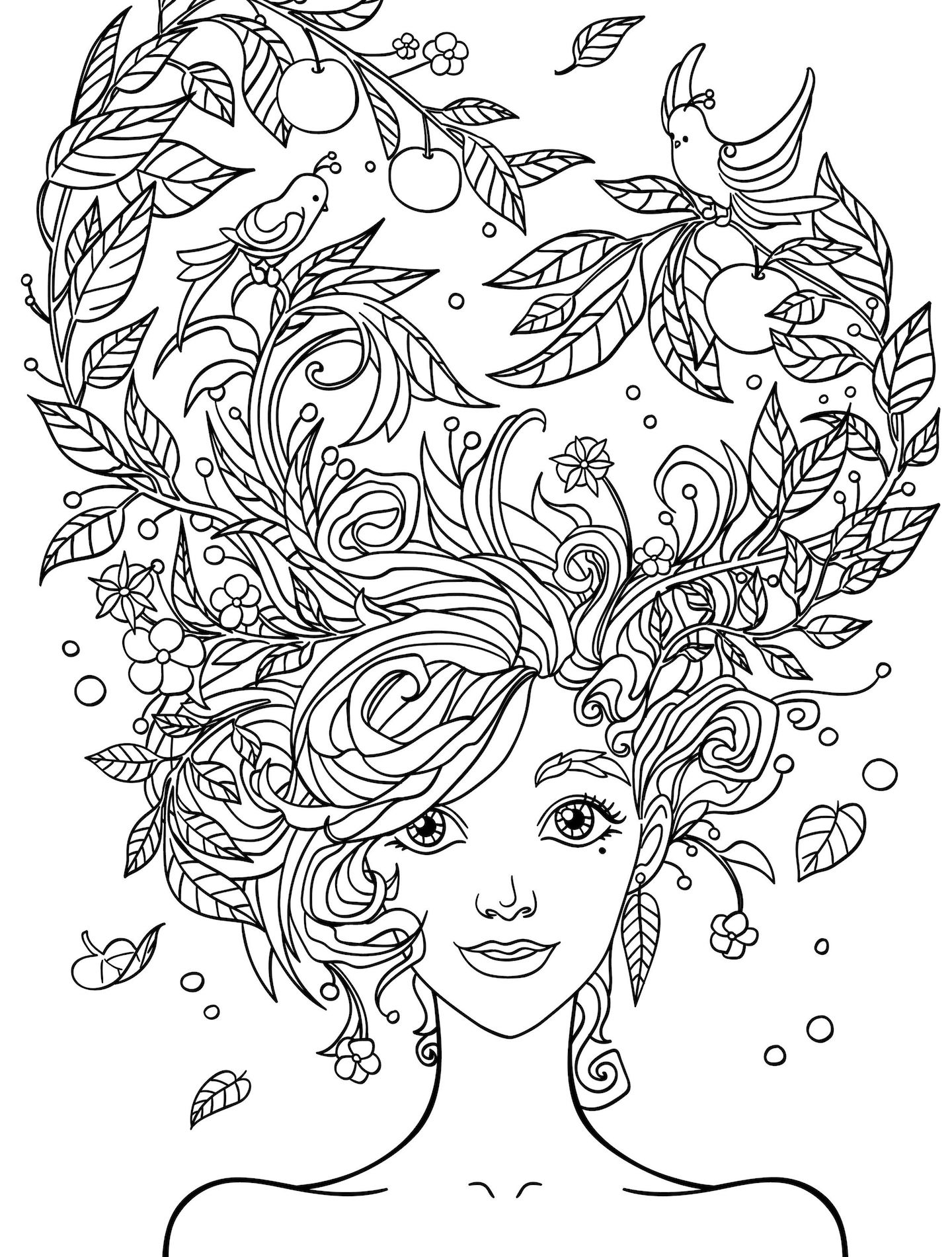 Online Coloring Pages For Adults And Other Themed Coloring ...