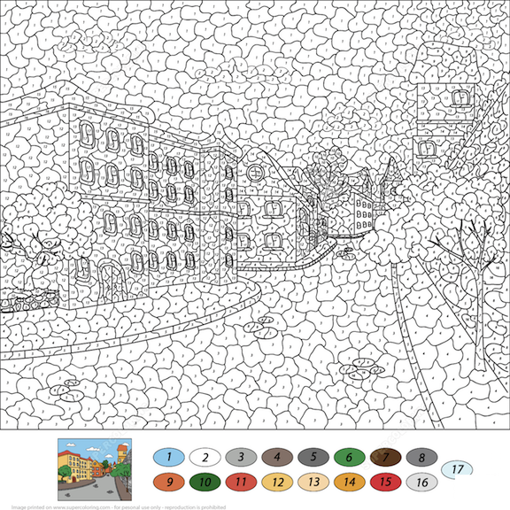 Online Coloring Games — Top 10 Color-By-Number Pages On The Internet