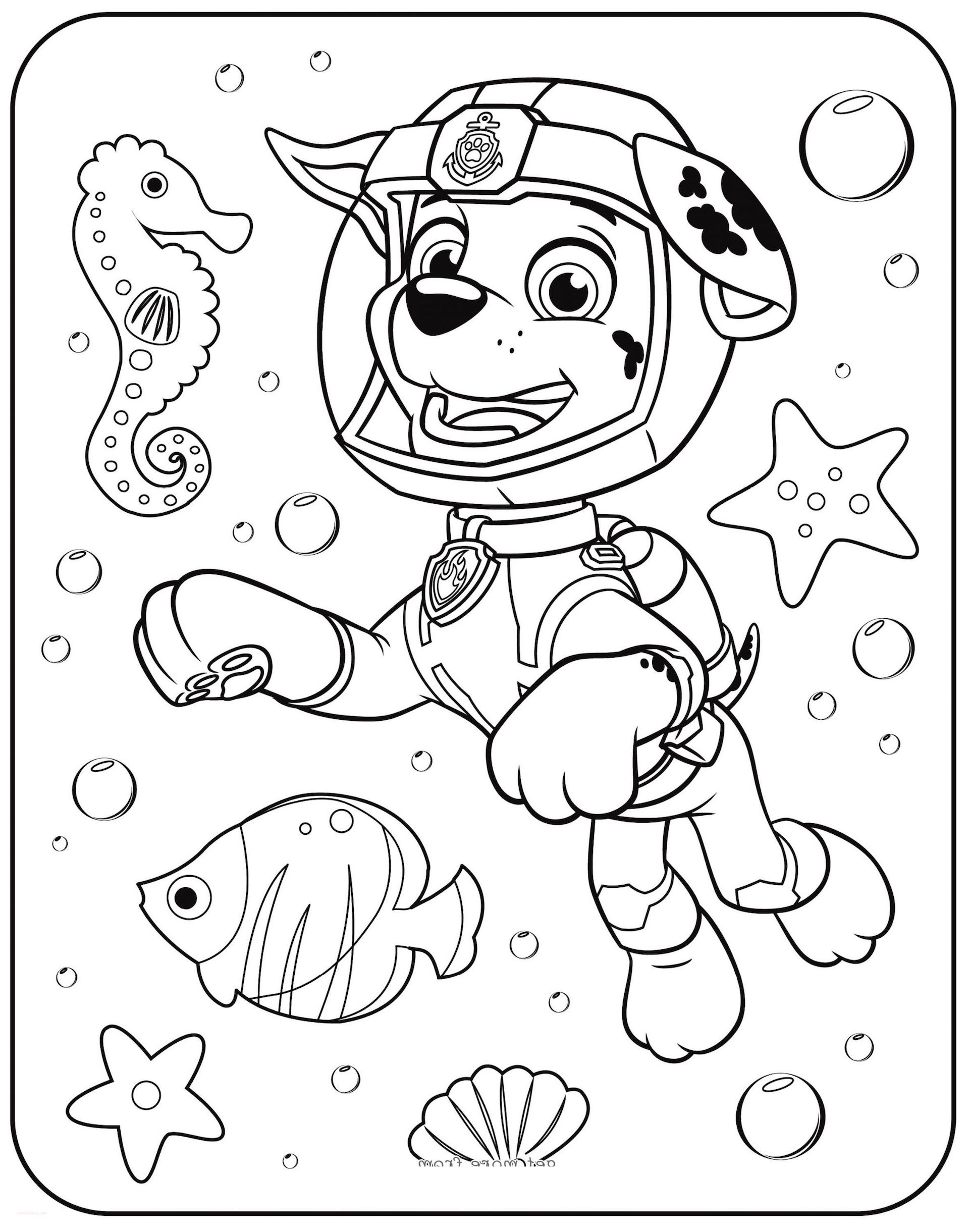 Paw Patrol Coloring Pages And Dozens More Top 10 Coloring ...