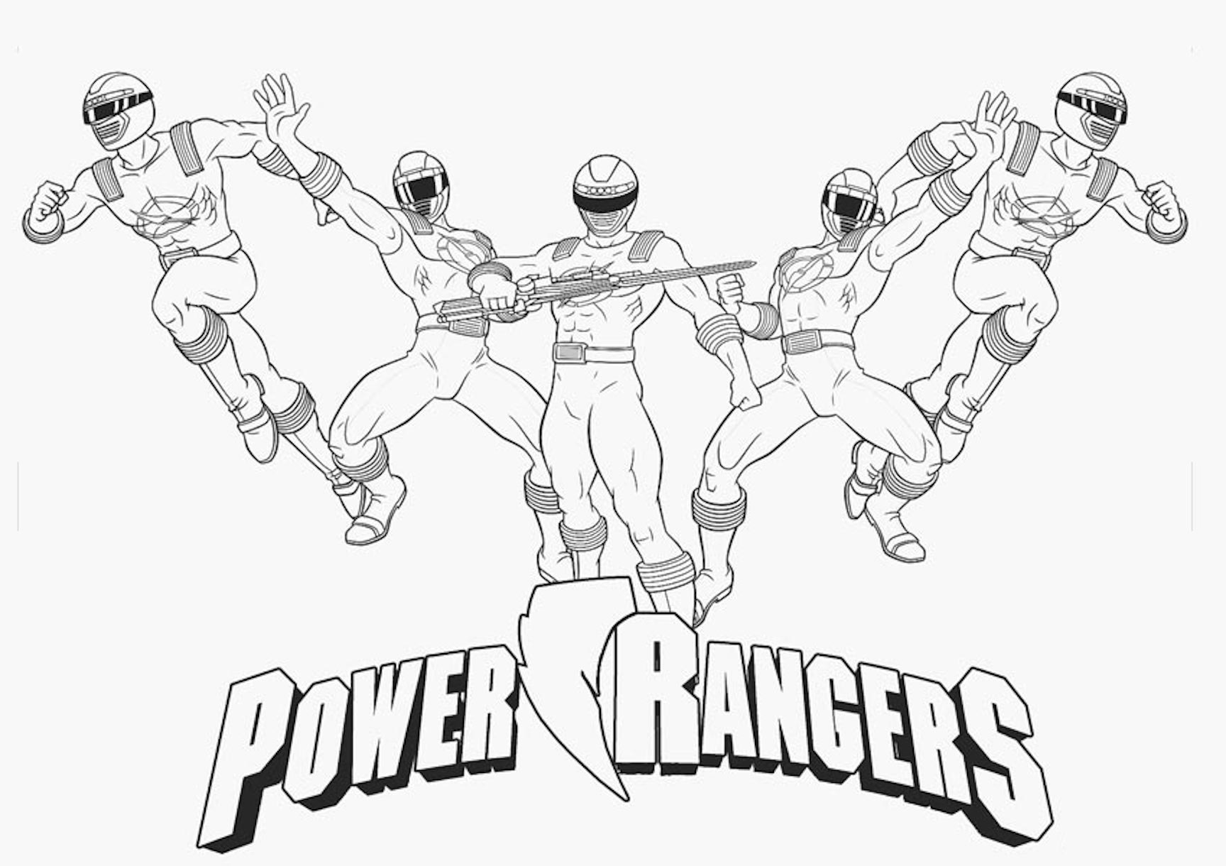 Power Rangers Coloring Pages And Other Top 18 Coloring Themes