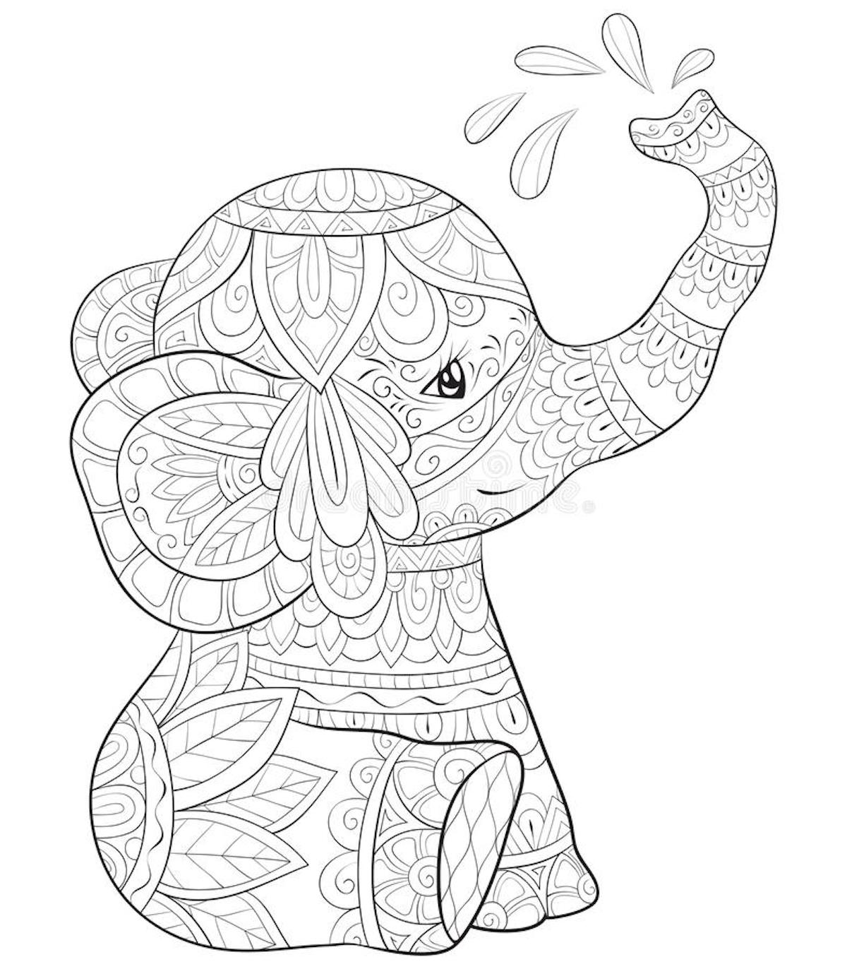 Printable Cute Coloring Pages For Adults And Other Top 18 Color Themes