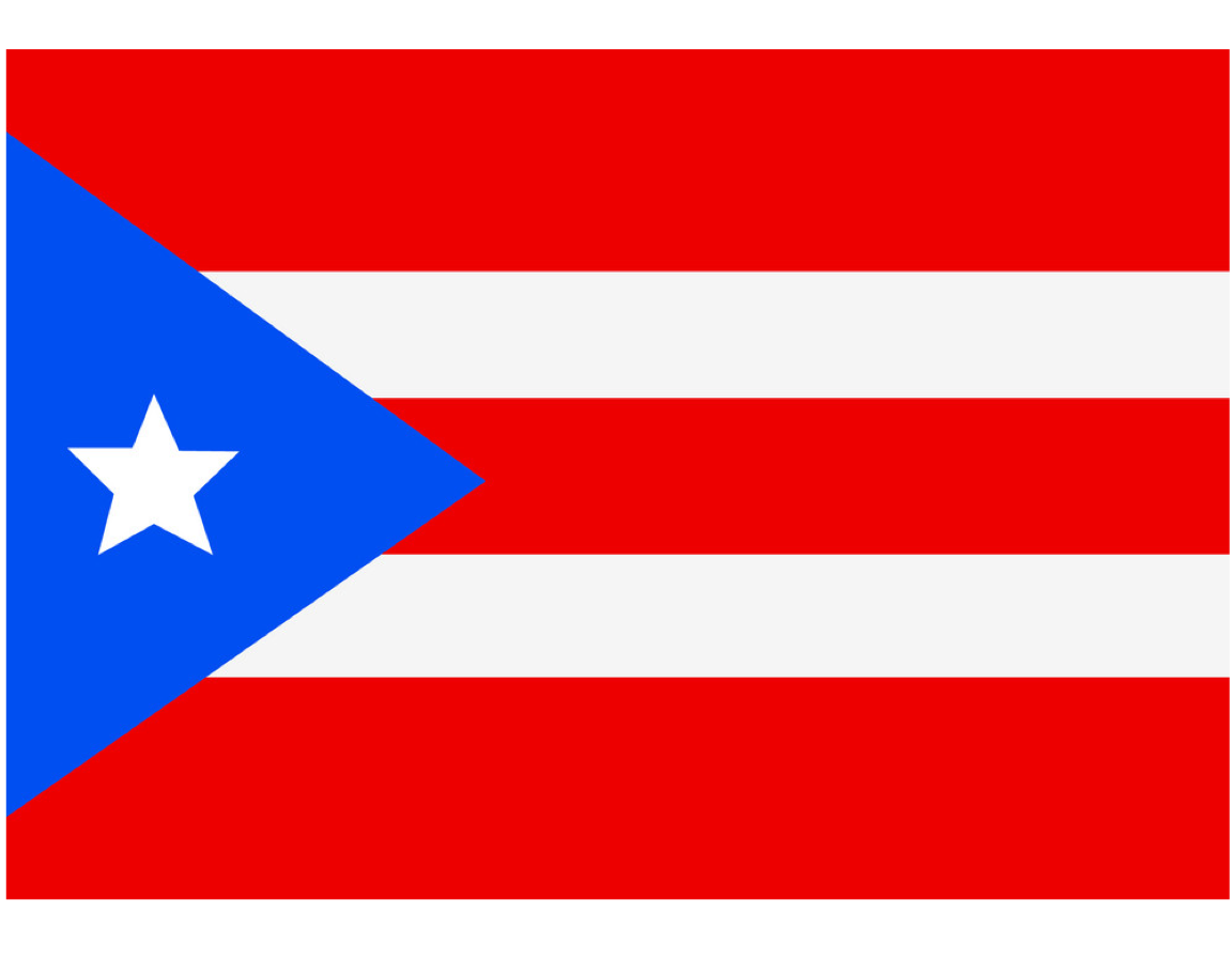 Puerto Rico Flag, National Flags And Free Printable International Maps