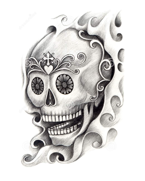 b84c021ffad1a Scroll down for a collection of Skull Tattoo Art, or click on any link  below to print out your favorite tattoo designs.