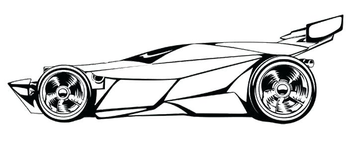 Sports Car Coloring Pages Free And Printable