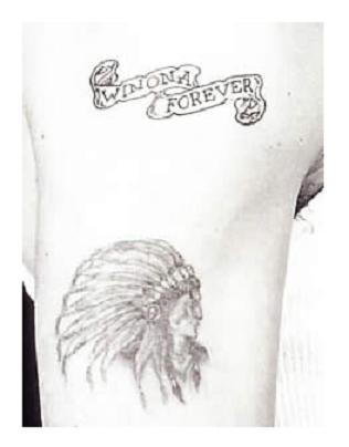 EXIT JOHNNY DEPP TATTOO PAGE - SEE MAIN PAGE