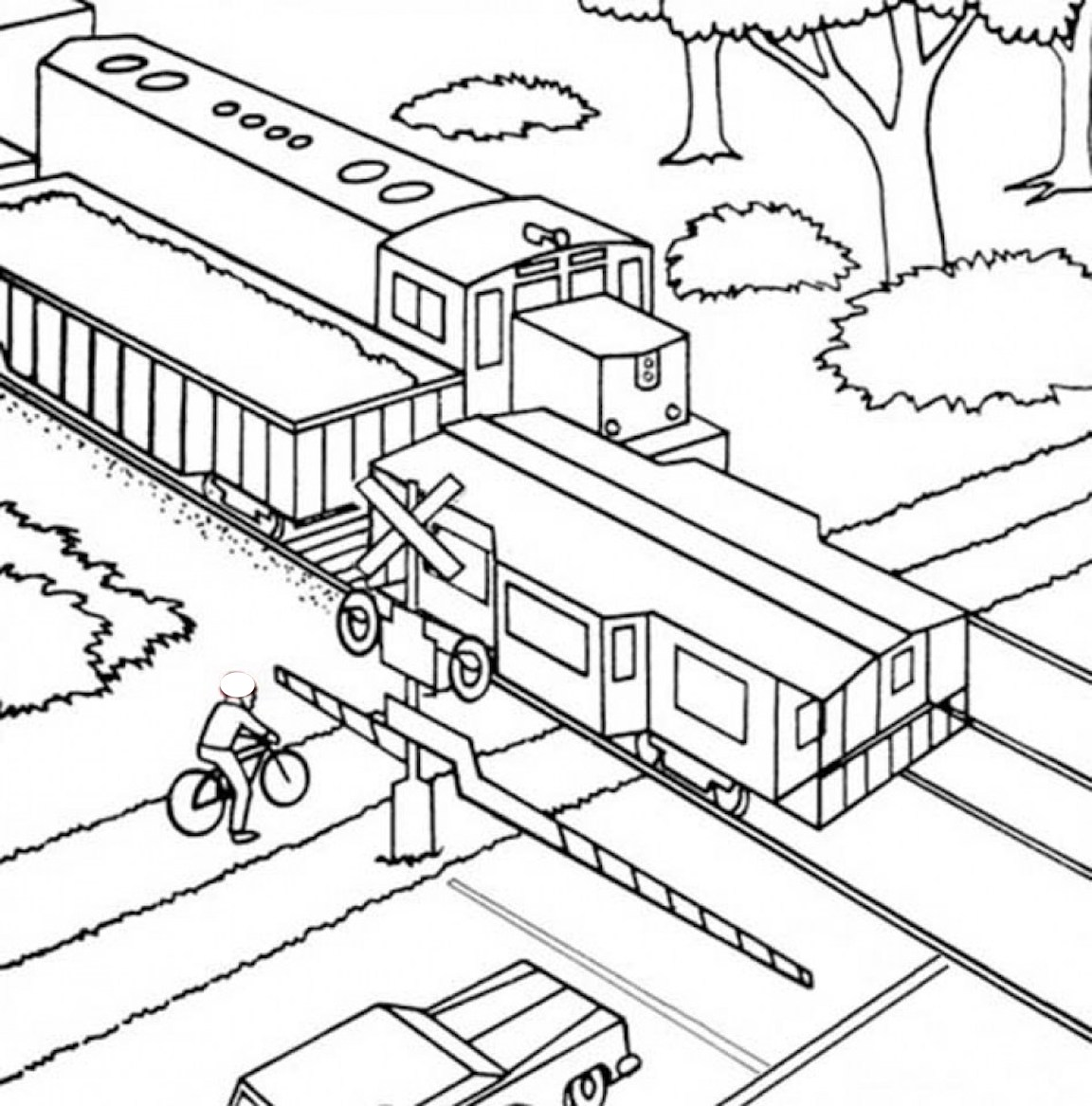 Train Coloring Pages And Other Top 10 Themed Coloring Challenges