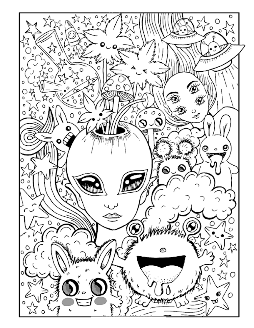 21+ Wonderful Trippy Disney Coloring Pages Selections