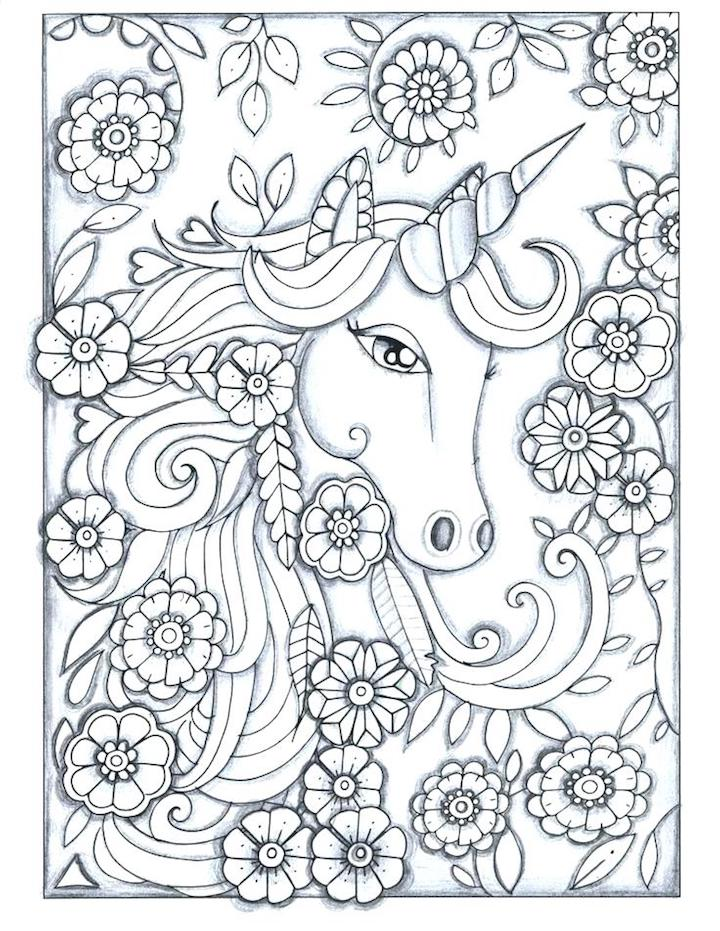 Unicorn Coloring Pages And Other Internet Top 10 Coloring ...
