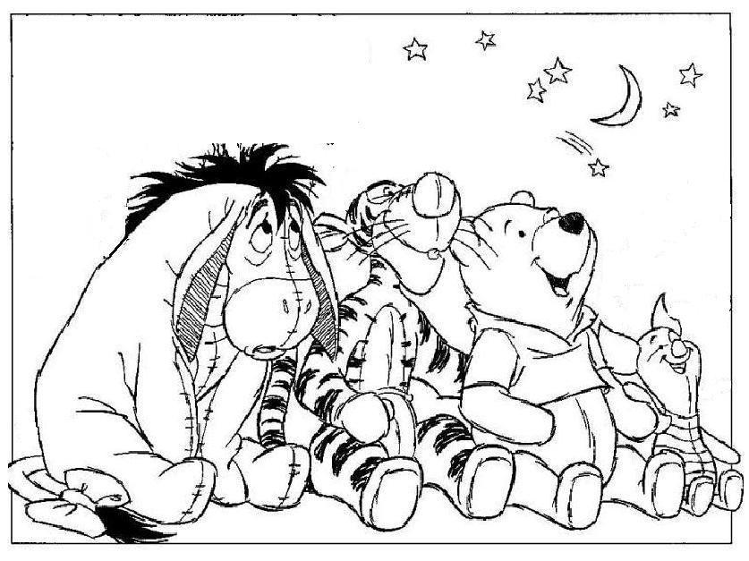 image about Winnie the Pooh Printable Coloring Pages known as Winnie the Pooh Coloring Webpages - Cost-free Printable Products