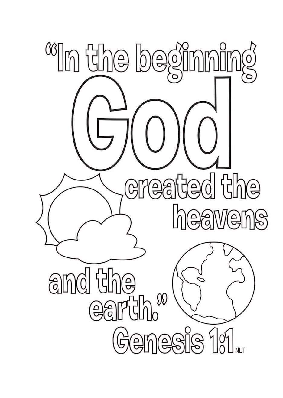 The Top 10 Bible Stories - Free Printable Coloring Pages