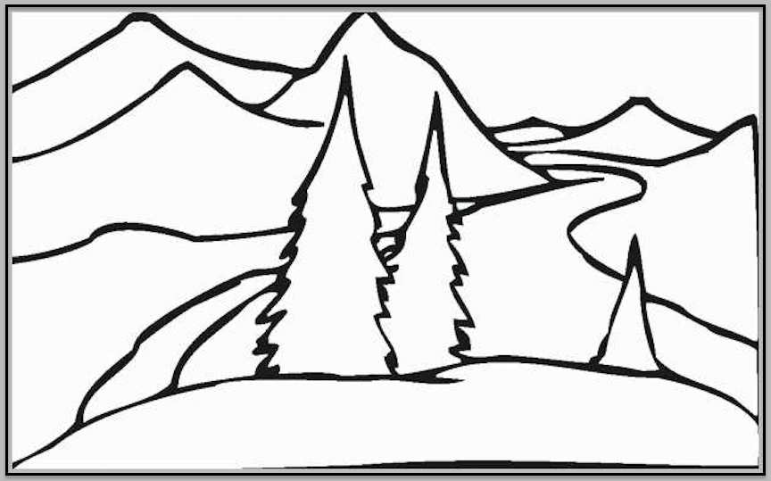 - Landscape Coloring Pages Kids Will Love